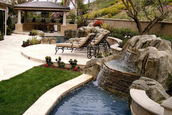 Outdoor entertainment area designers